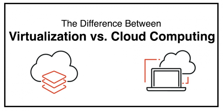 Understanding The Differences Between Virtualization & Cloud Computing