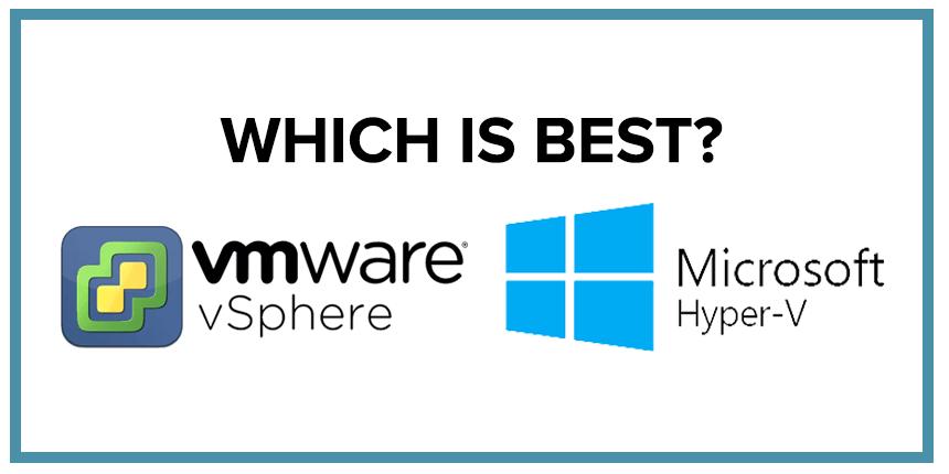 Virtualization: VMWare vs. Microsoft Hyper-V