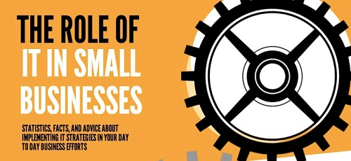 [Infographic] The Role of IT in Small Businesses